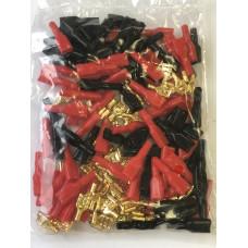 Клемма для авто колонок красный+черный 1,5мм2   CU