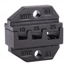 Номерные матрицы для обжима изолированных и неизолированных наконечников МПК-03