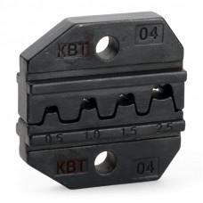 Номерные матрицы для обжима изолированных и неизолированных наконечников МПК-04