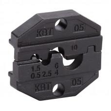 Номерные матрицы для обжима изолированных и неизолированных наконечников МПК-05