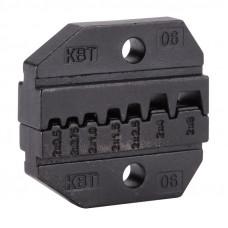 Номерные матрицы для обжима изолированных и неизолированных наконечников МПК-06