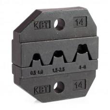 Номерные матрицы для обжима изолированных и неизолированных наконечников МПК-14