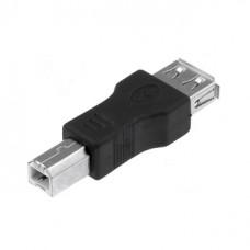 Переходник USB  гнездо А - штекер B