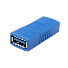 Переходник USB  гнездо А - гнездо А  версия 3.0