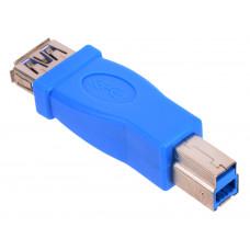 Переходник USB  гнездо А - штекер B  версия 3.0