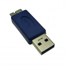 Переходник USB  штекер А - штекер Micro USB  версия 3.0
