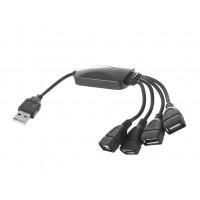 Разветвитель USB  штекер A - 4 гнезда A   L: 0,2 м