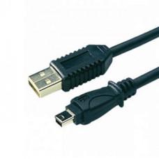 Кабель USB штекер А - штекер Mini 4 pin   1,5 м   PE