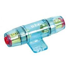 Держатель предохранителя на 1 AGU для кабеля 4GA(21мм2)-8GА (8мм2) синий PVC