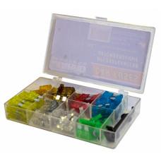 Набор предохранителей в пластиковой коробке (3А,5А,7,5А,10А,15А,20А,25А,30А) 80шт