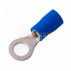 Наконечник кольцевой изолированный с ПВХ манжетой НКИ  2,5- 6 синий