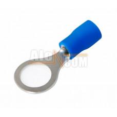 Наконечник кольцевой изолированный с ПВХ манжетой НКИ  2,5- 8 синий
