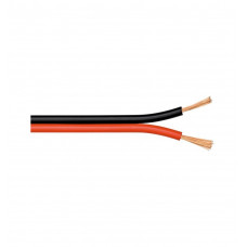 Акустический кабель 0,25 мм2 RED/BLACK на катушке 100 м
