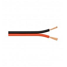 Акустический кабель 0,35 мм2 RED/BLACK на катушке 100 м