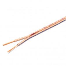 Акустический кабель 0,35 мм2 силикон BLUE LINE на катушке 100 м