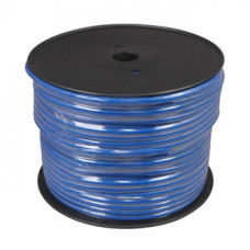 Кабель микрофонный O.D. 6,8 мм синий 100 м