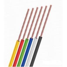 Провод ПГВА 0,5 мм красный (ПГВА)  100 м