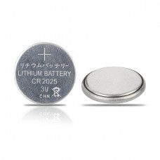 Батарейка CR2025 LITHIUM (таблетка) (5шт.) блистер