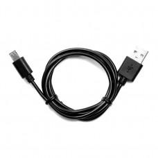 Кабель USB  штекер А - штекер Micro В  1,0 м   черный   BB