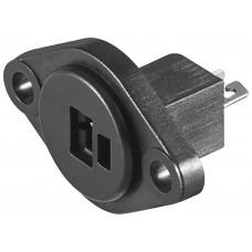 Гнездо акустическое 2 pin DIN(точка-тире) на корпус