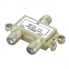 Антенный разветвитель на 2 TV 5- 900 MHz