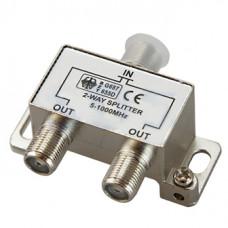 Антенный разветвитель на 2 TV 5-1000 MHz