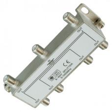 Антенный разветвитель на 6 TV 5-1000 MHz