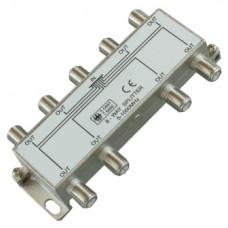 Антенный разветвитель на 8 TV 5-1000 MHz