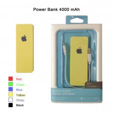 "Портативное зарядное устройство Power Bank ""APPLE"" в блистере 4000 mAh"