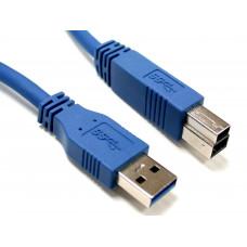 Кабель USB штекер А - штекер В 1,5 м версия 3,0    BB