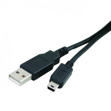 Кабель USB  штекер А - штекер Mini 5 pin  1,5 м  ВВ