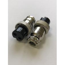 Микрофонное гнездо MIC 2 pin на кабель