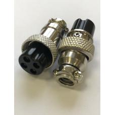 Микрофонное гнездо MIC 4 pin на кабель