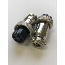 Микрофонное гнездо MIC 5 pin на кабель