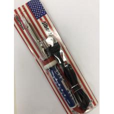 Паяльник 220В  40Вт прорезиненная ручка конусообразное жало (блистер) USA