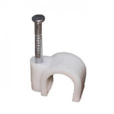 Крепеж кабеля круглый  4 мм (упак. 50 шт.)