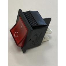 Переключатель, B-502,   4с,   220в,   25А   красный