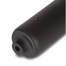 Термоусадочная трубка черная с клеевым слоем  4:1  4,0/1,0   1 м