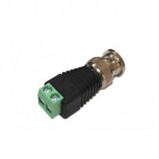 Разъем BNC штекер под 2 винта на кабель