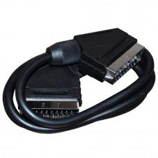 Кабель SCART штекер -  SCART штекер 21 pin    1,2 м   PЕ