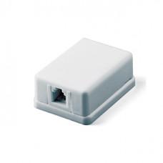 Розетка телефонная 1 вход  с двусторонней липучкой